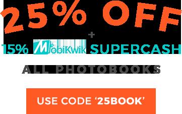 Flat 50% off on all Photo Calendars. Use code: CAL2018