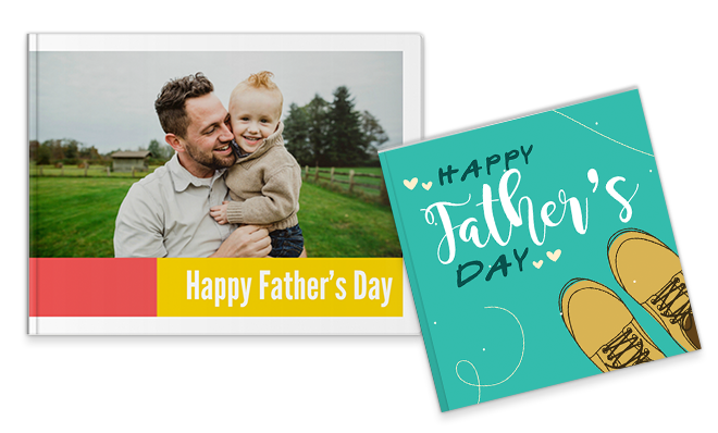 30% off on all Photobook. Use coupon DADSBOOK.