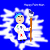 Happy Paint Man