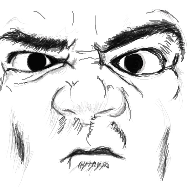 2draw net boards intermediate angry face