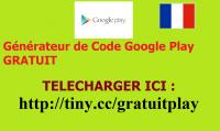 code google play gratuit sans offre