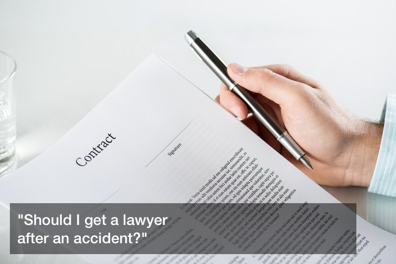 should i get a lawyer after an accident