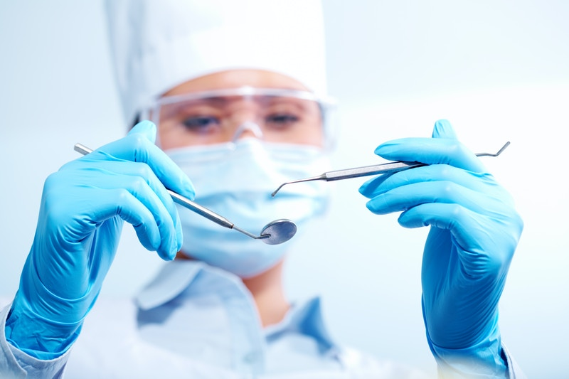Tooth removal surgery