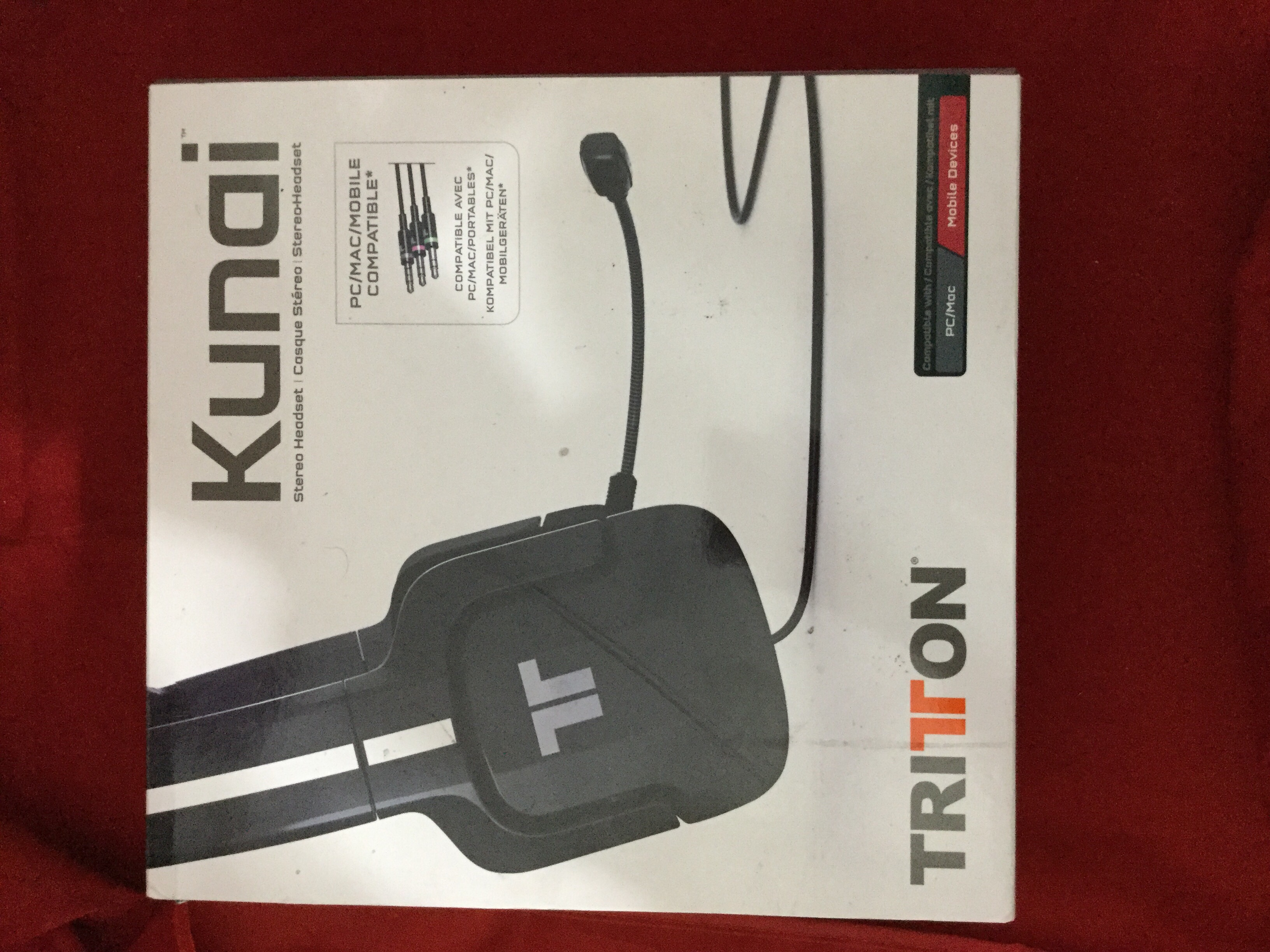 Details about TRITTON Kunai Stereo Headset for PC and MAC SN206862