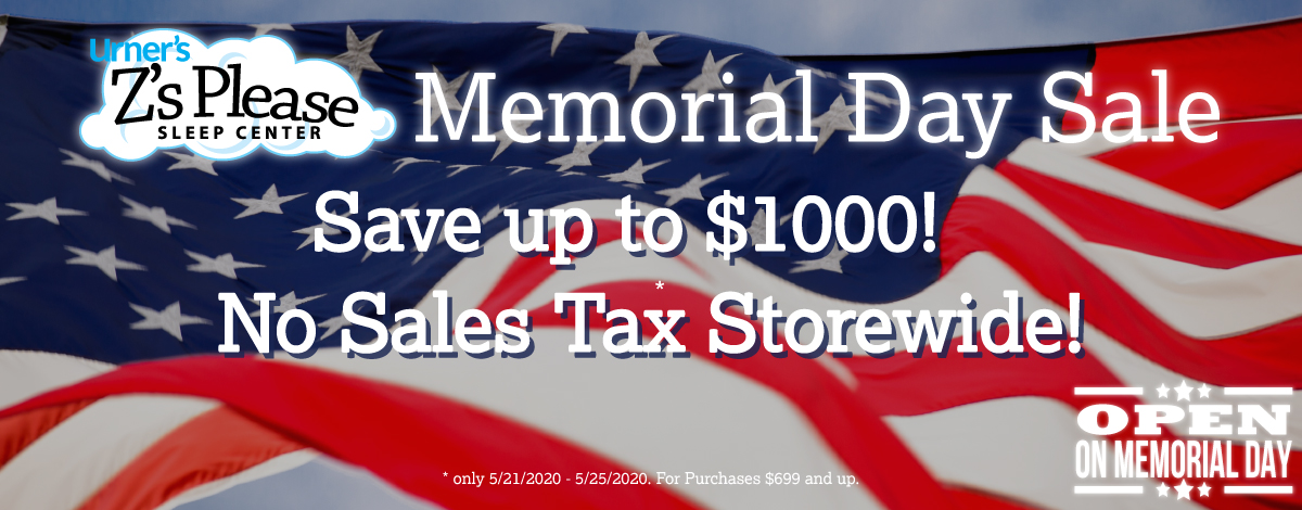 Memorial Day Sale at Z's Please is happening now!