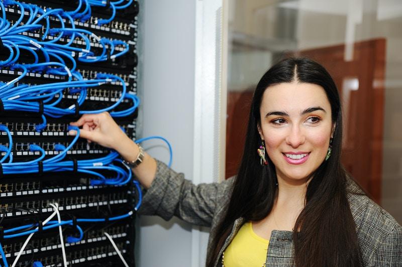 Server rack shelves