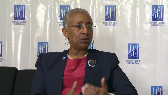 Thumbnail of Angela Gittens, Director General, ACI World.  10 minutes