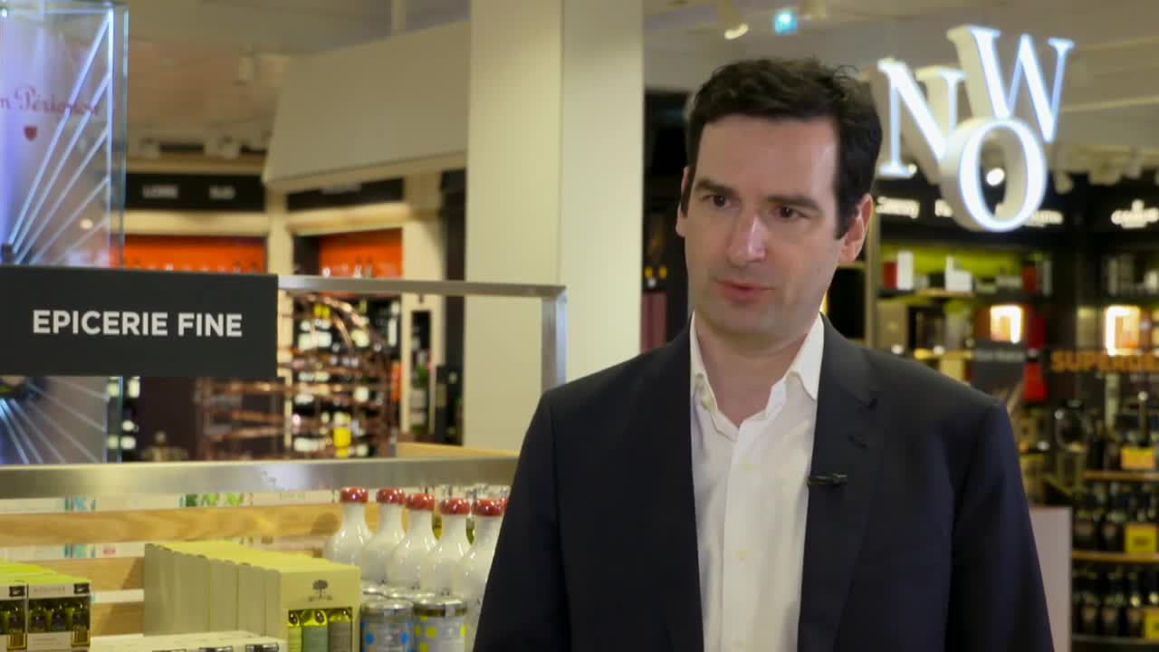 Thumbnail of AMBROISE FONDEUR, CEO LAGARDERE TRAVEL RETAIL, DUTY FREE GLOBAL. 6 mins.