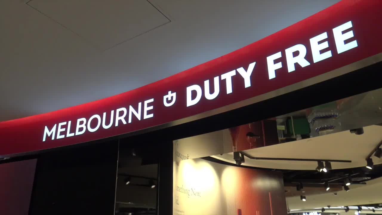 Thumbnail of DUFRY AT MELBOURNE AIRPORT. 2 mins.