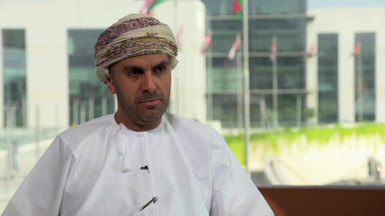 Thumbnail of SHEIKH AIMEN AL HOSNI, CEO, OMAN AIRPORTS, INTERVIEWED. 13 mins.