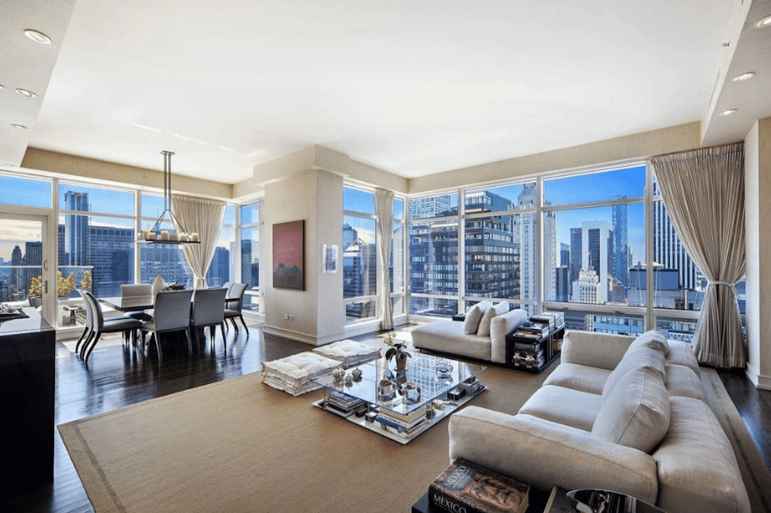 the 10 most luxurious apartments in nyc right now. Black Bedroom Furniture Sets. Home Design Ideas