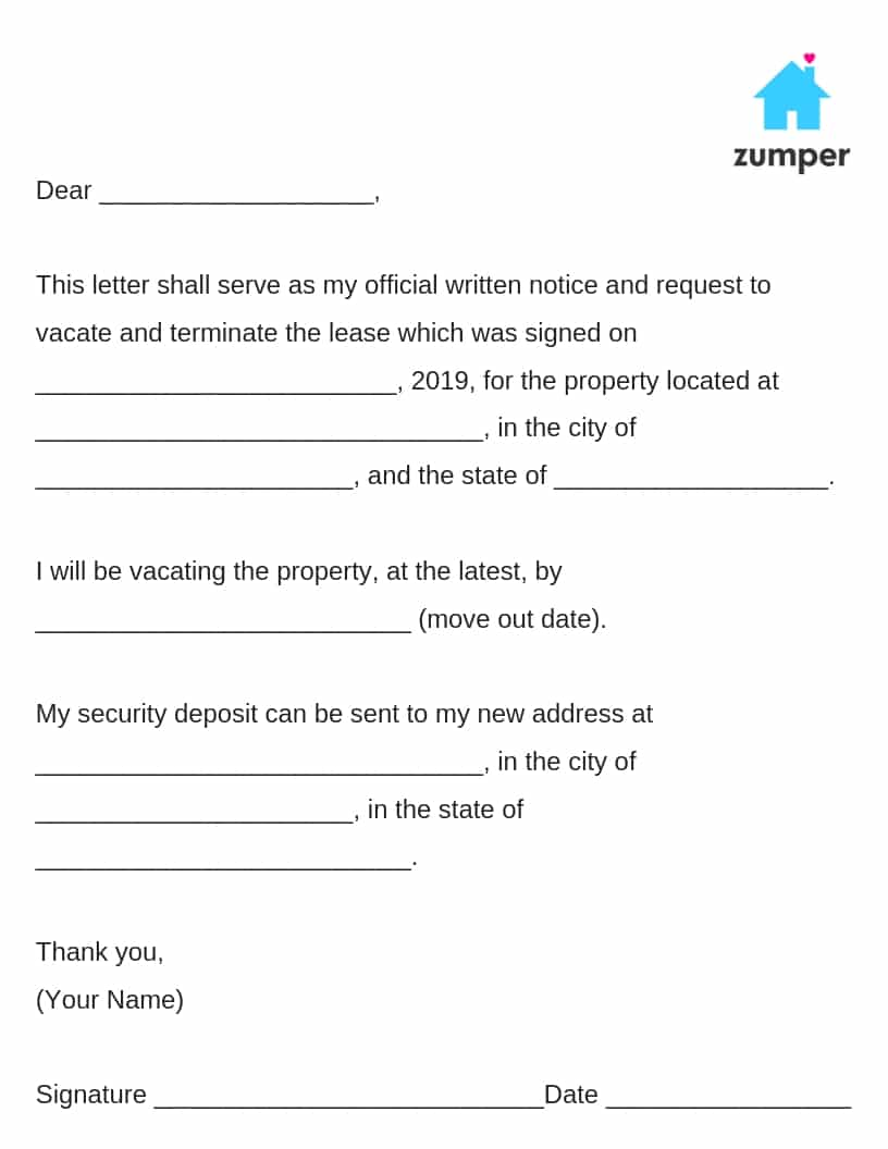 How to Give Written Notice to Your Landlord--Notice to