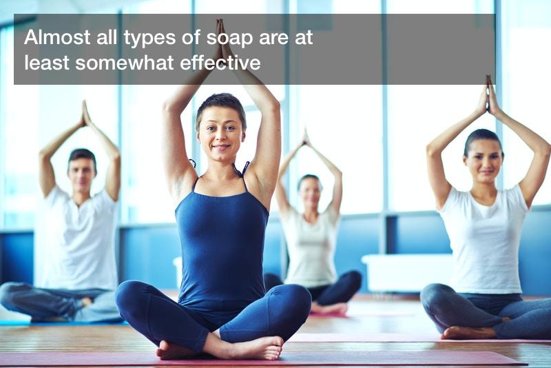 antibacterial soap effectiveness