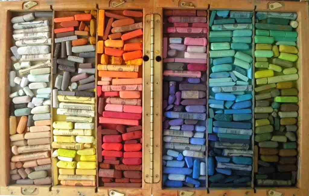 A Simple Gift Of Pastels From His Grandfather Inspired Artist Dave Beckett featured image