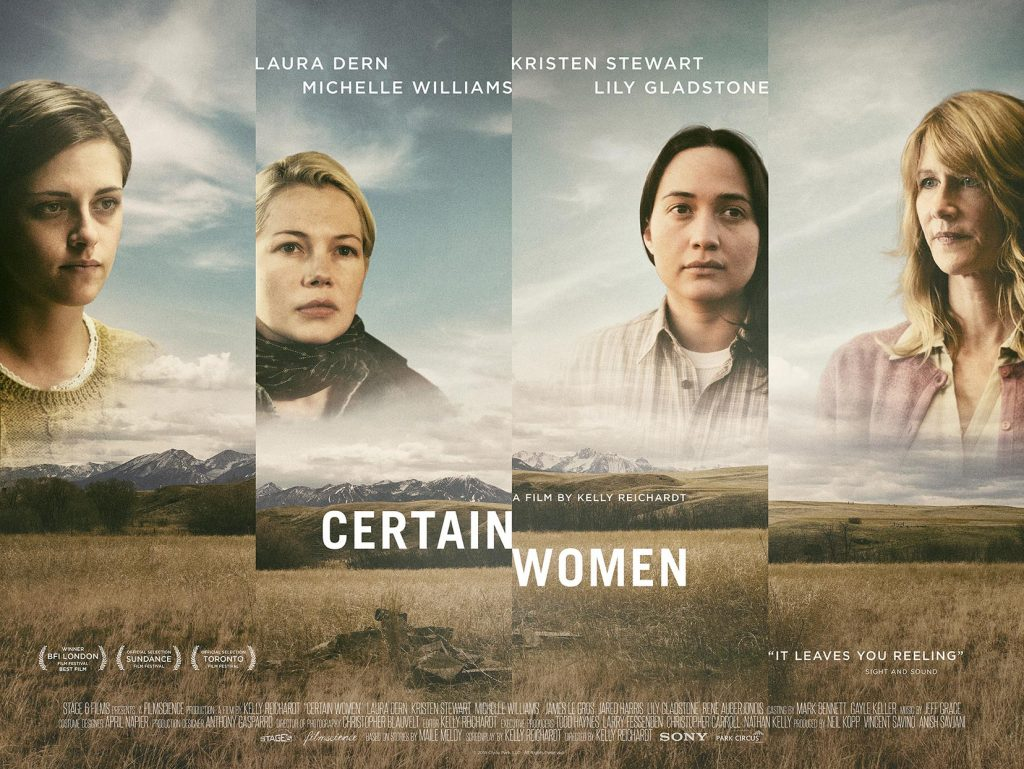 Certain Women, Film Review by Marc Glassman featured image