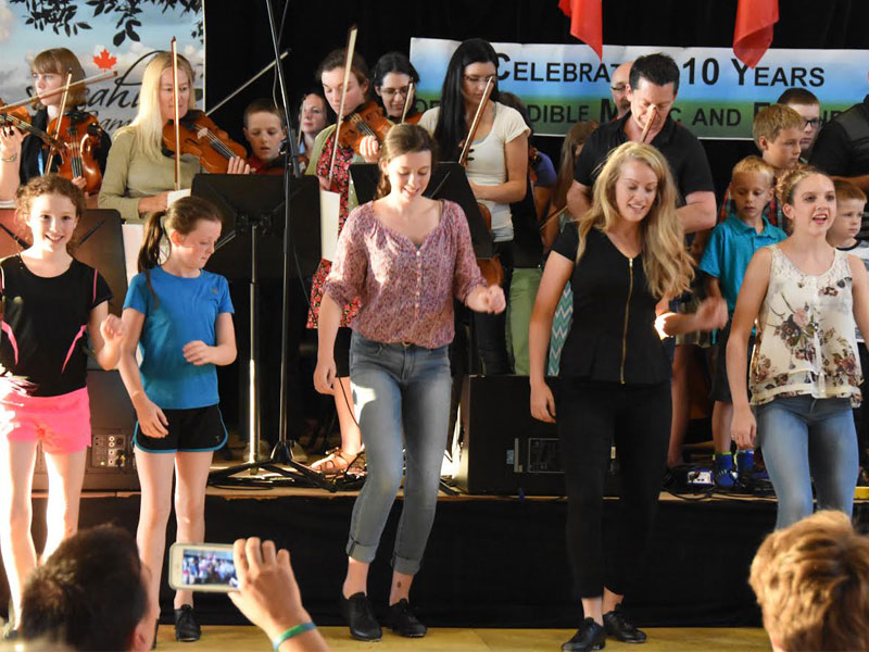 Leahy Music Camp Celebrates 12 Years! featured image