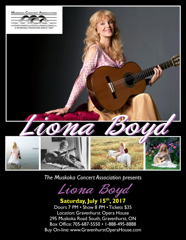 Liona Boyd Has A New Album, Autobiography And Concert In Gravenhurst featured image