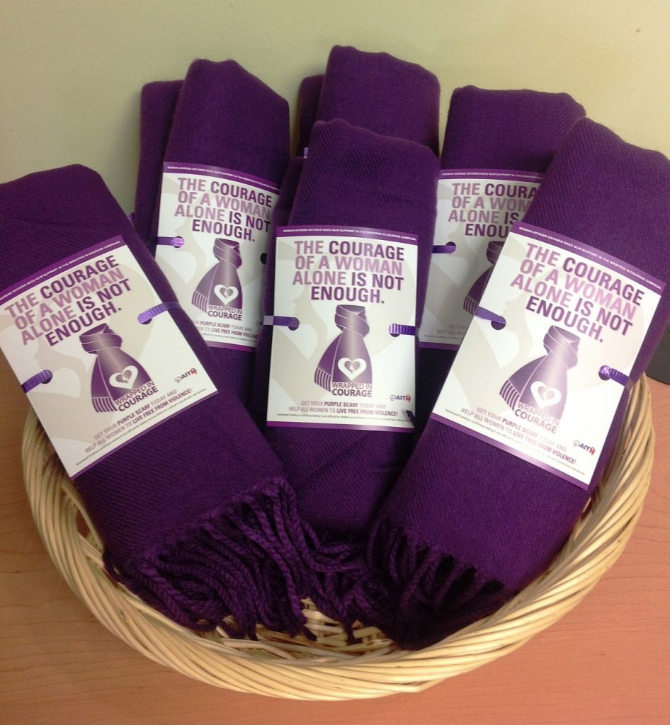 """Get """"Wrapped Up In Purple"""" During Cornerstones Wrapped In Courage Campaign featured image"""