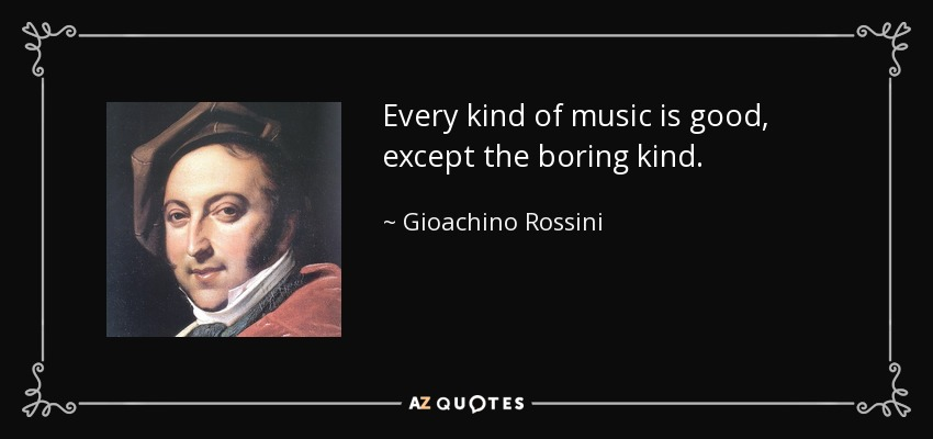 It\'s sort of Rossini\'s birthday: he was a leap year baby ...