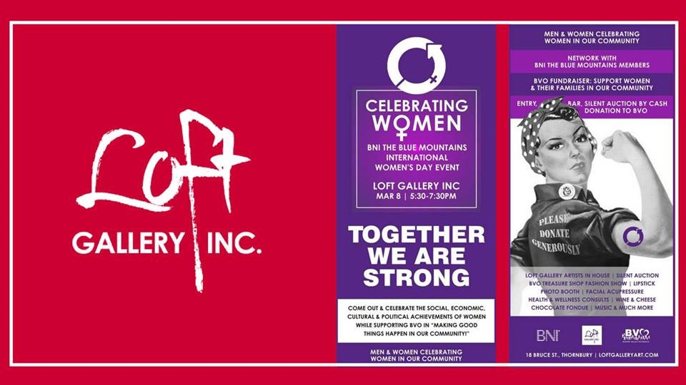 Celebrating Women Event At Loft Gallery In Clarksburg featured image