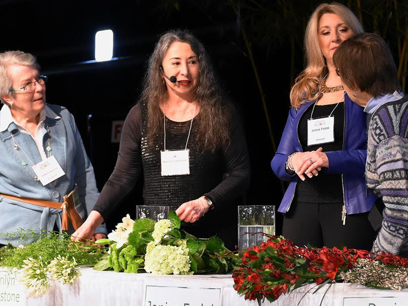 """Don't Miss Marilyn Lightstone at the """"Celebrity Flower Arranging Contest"""" at Canada Blooms featured image"""
