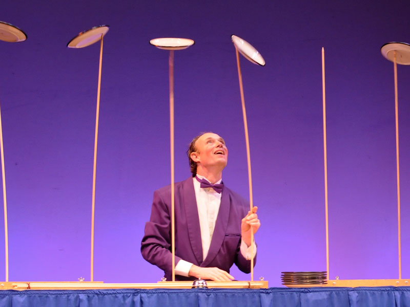 Time to ask your kids something. Have they heard of plate spinning? featured image