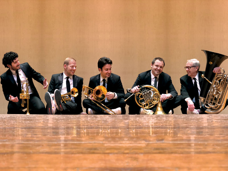 RSVP to Canadian Brass Live at Zoomer Hall featured image