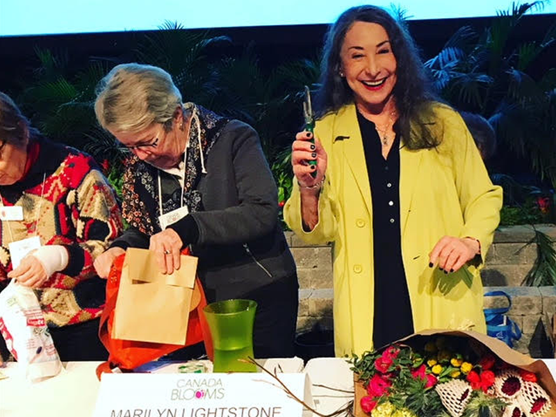 Marilyn Lightstone Returns to Canada Bloom's Celebrity Flower Arranging Contest featured image