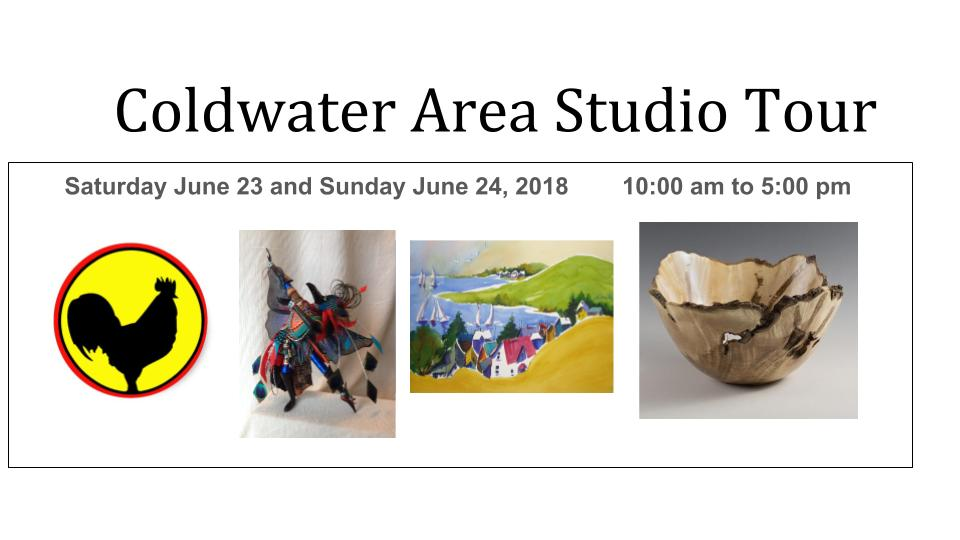 A Colourful Weekend Awaits…It's The 2018 Coldwater And Area Studio Tour featured image