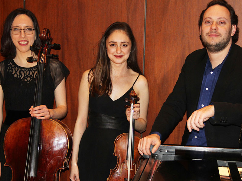 Berkovsky-Mirzoev-Sarid Trio Perform Live TODAY at Zoomer Hall! featured image