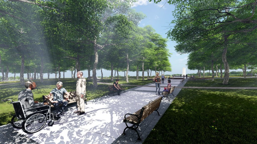 Jeremy Diamond chats with Kerry Stratton about the Opening of the Vimy Foundation Centennial Park featured image
