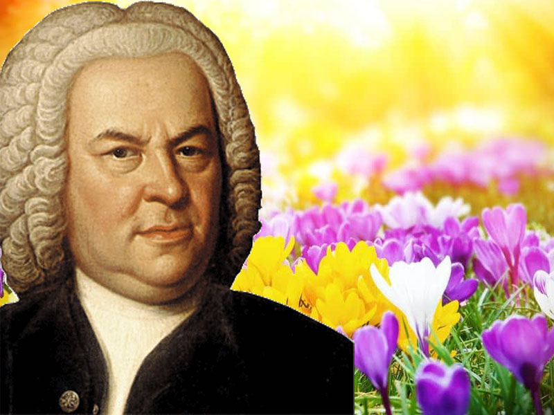 The music of JS Bach inspires thoughts of Spring… featured image