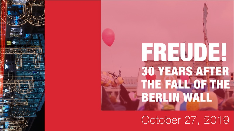 Orchestra Toronto Opens their 19/20 Season Commemorating the Fall of the Berlin Wall featured image