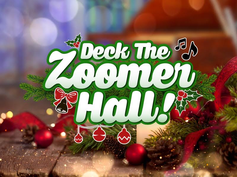 """Join Jaymz Bee for """"Deck the Zoomer Hall"""" on Vision TV, 11 pm Christmas Day featured image"""