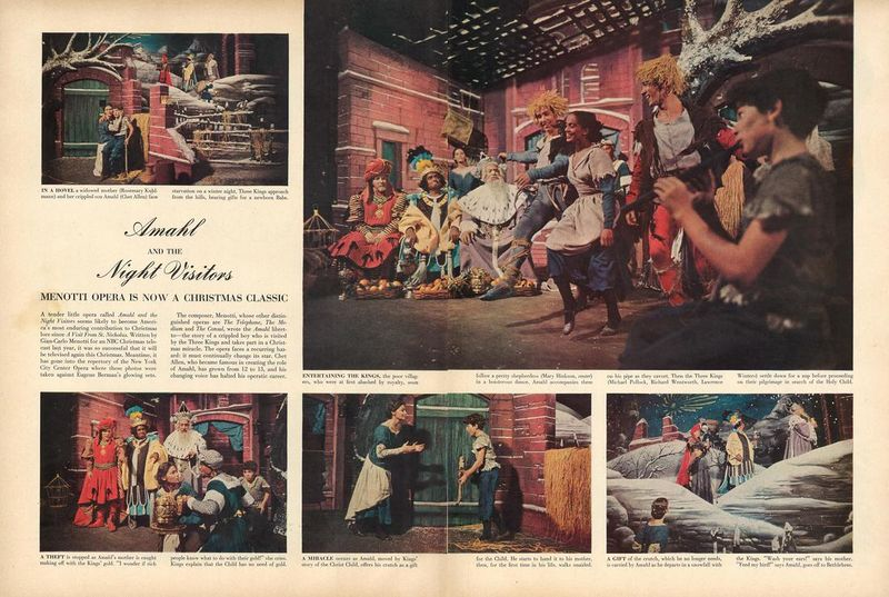 "Sunday Night at the Opera: ""Amahl and the Night Visitors"" featured image"