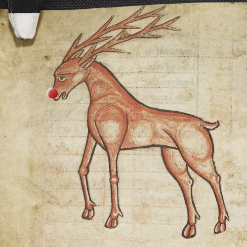 Rudolph the Red Nosed Reindeer – a la Gregorian chant featured image