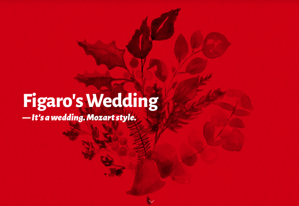Against the Grain Theatre invites you to 'Figaro's Wedding' featured image