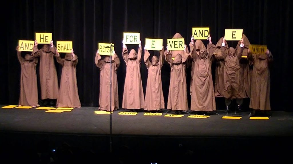 The Silent Monks Hallelujah Chorus that went viral featured image