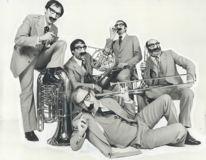 Throwback Thursday video: vintage Canadian Brass! featured image