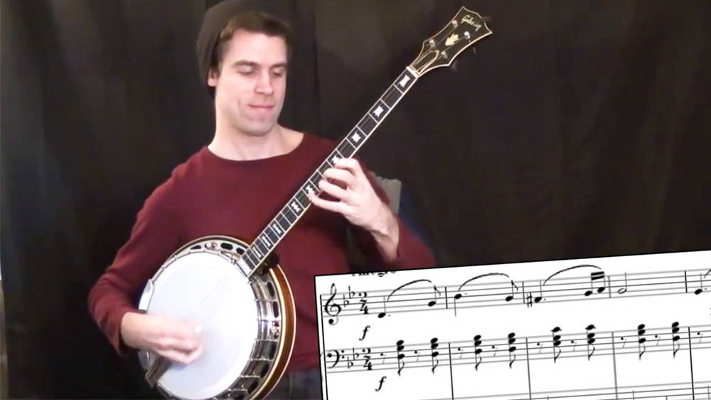 When a bluegrass banjo player takes on Brahms featured image