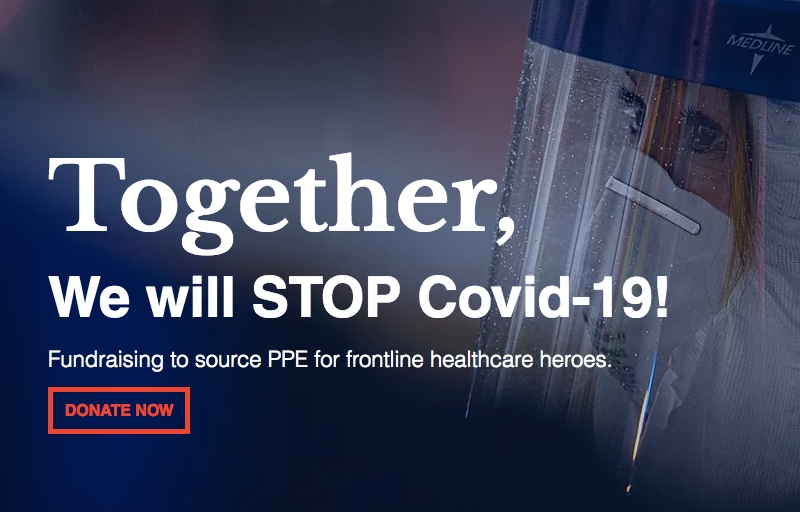 STOP Covid-19 Fundraising Campaign featured image