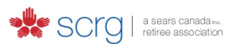 SCRG Sears Retiree Association logo