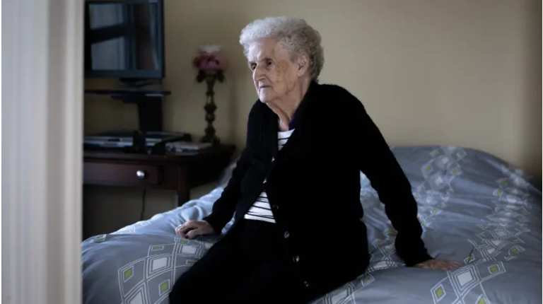 Senior confined to bedbug infested long-term care room for 2 weeks