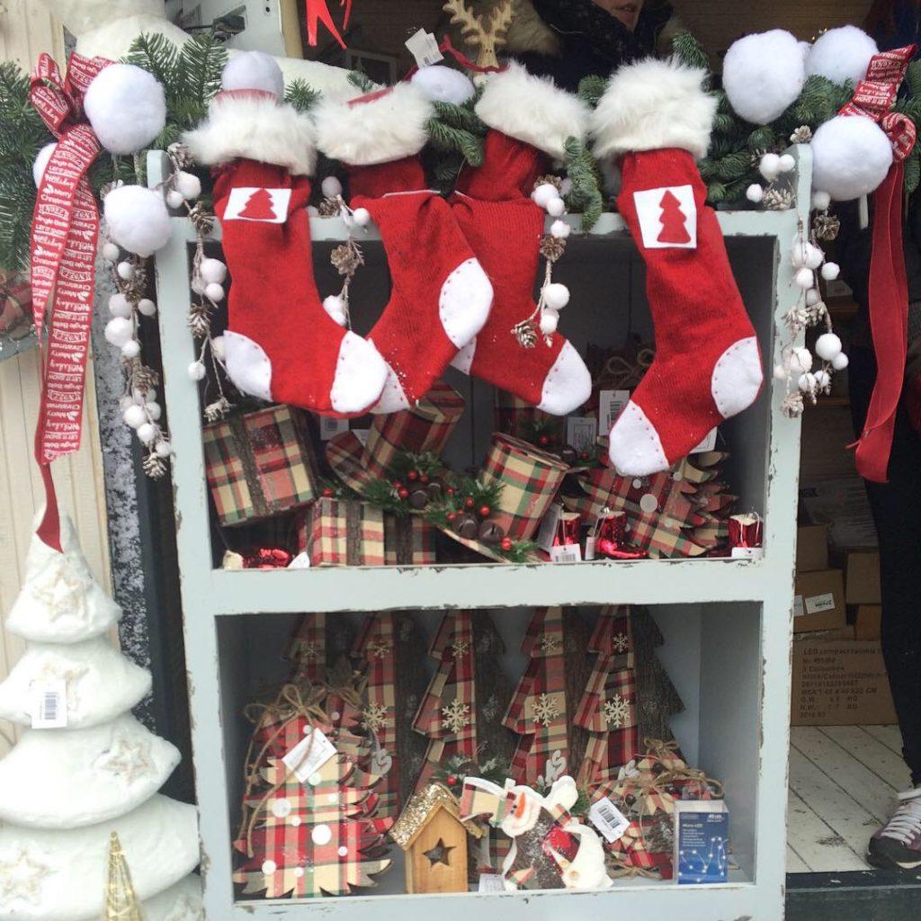 Christmas ware at Ban Jelacek