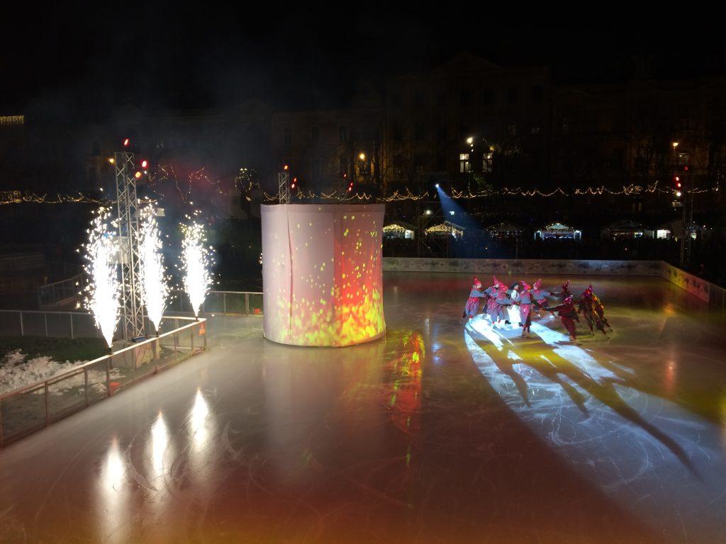 Ice Park Christmas festivities