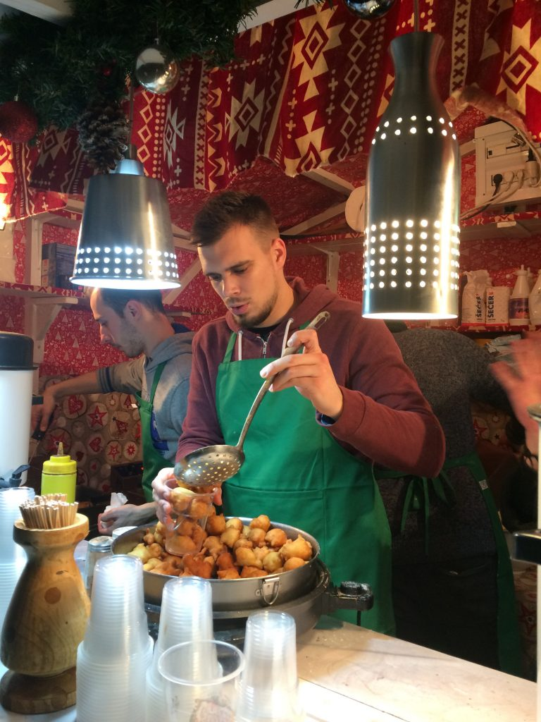 Festive fritule (doughtnuts)