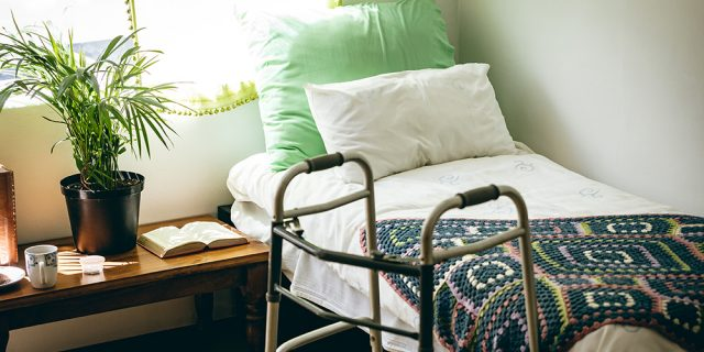 Empty long-term care bed