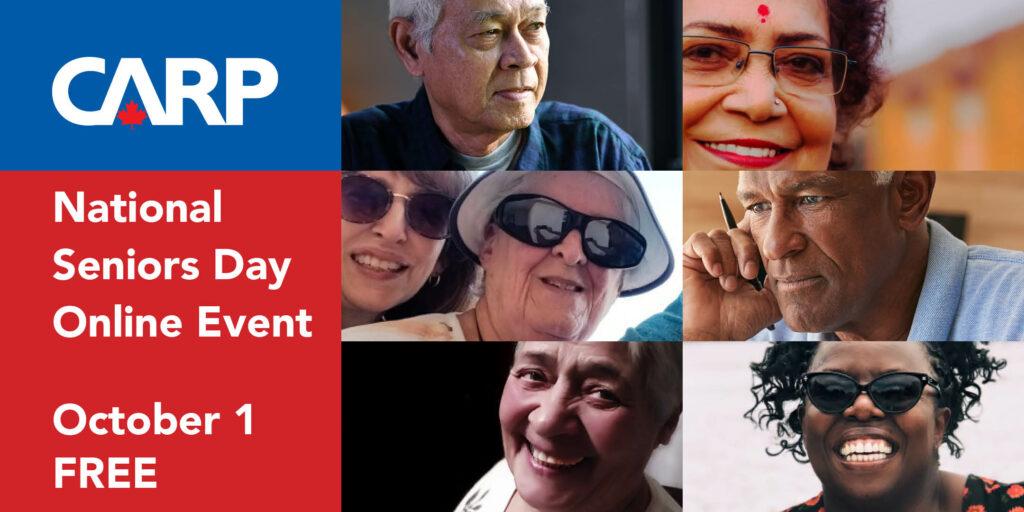 CARP National Seniors Day Online Event