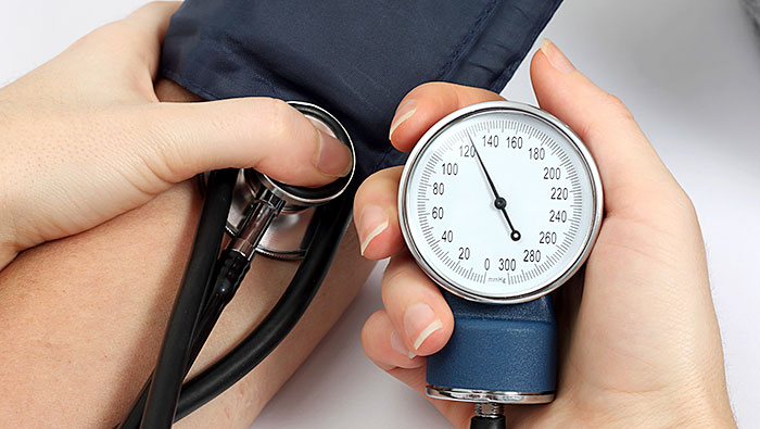Blood Pressure Check both Arms