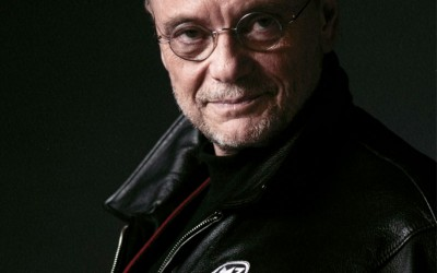 Moses Znaimer at 'Be My Guest' in Muskoka with Host Peter Jennings